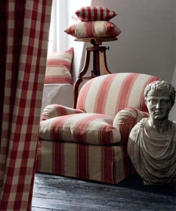 FRL168_10 MILL POND STRIPE - STONE-LINEN