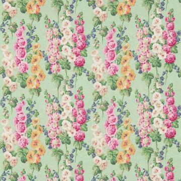 HOLLYHOCKS DVIN224309-mint-pink