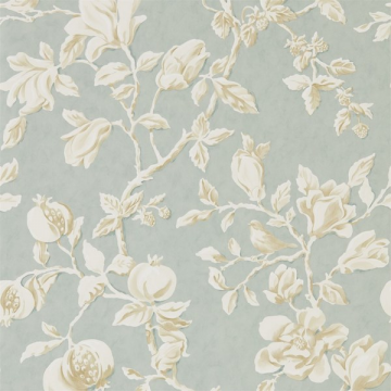 MAGNOLIA & POMEGRANATE DWOW215724-grey blue parchment