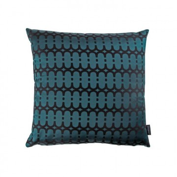 KDC5163-05 LOOPY-LINK-CUSHION-TEAL