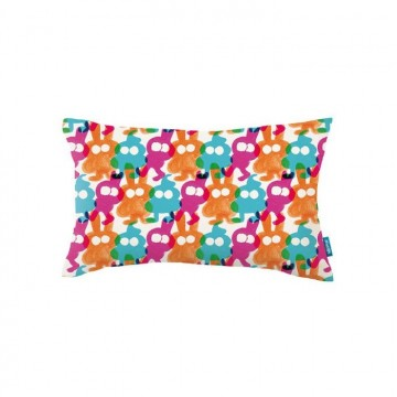 KDC5139-02 RAINBOW-SCRAWL-CUSHION-FIZZY