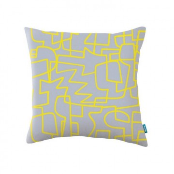 KDC5142-06 ZAG-ZIG-CUSHION-BANANA