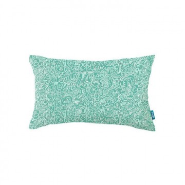 KDC5144-09 SPAGHETTI-YETI-CUSHION-SPEARMINT