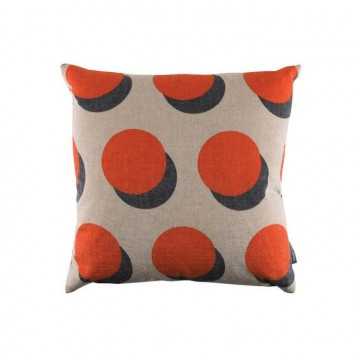 KDC5114-01 ATOM-CUSHION-BURNT-ORANGE
