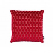 KDC5096-04 BAKERLOO-CUSHION-RUBY