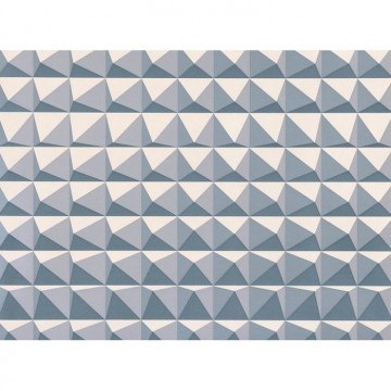 WK801-04 DOMINO-PYRAMID-WALLCOVERING-STEEL