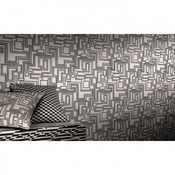 WK802-03 ELECTRO-MAZE-WALLCOVERING-POWDER