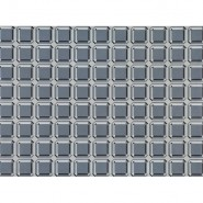WK803-03 GEM-BLOCKS-WALLCOVERING-STEEL