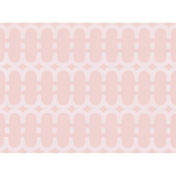 WK804-02 LOOPY-LINK-WALLCOVERING-ROSE