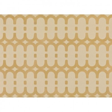 WK804-03 LOOPY-LINK-WALLCOVERING-GOLD
