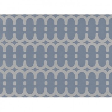 WK804-04 LOOPY-LINK-WALLCOVERING-STEEL