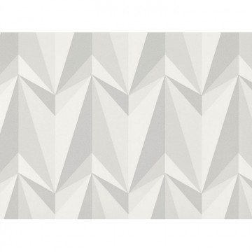 WK806-01 ORIGAMI-ROCKETS-WALLCOVERING-CONCRETE