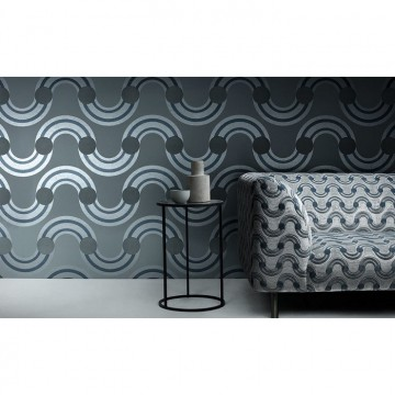WK808-05 SPOT-ON-WAVES-WALLCOVERING-STEEL