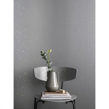 Confetti Wallpaper - Grey