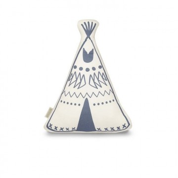 Teepee Cushion Indigo