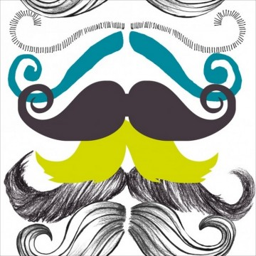 DIFFERENT MOUSTACHES WP20089