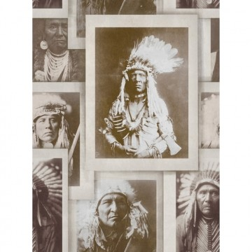 INDIAN CHIEFS SEPIA WP20071