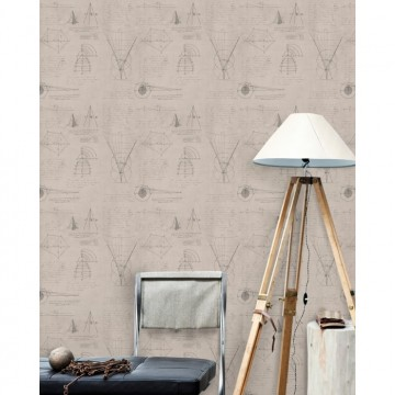 NEWTON GEOMETRY TAUPE WP20047