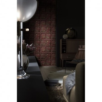 8888-328 BOISERIE-ANGLAISE-ANTIQUE-ROUGE