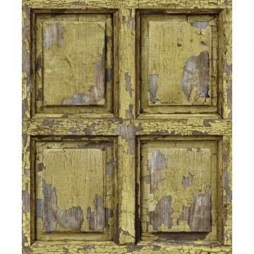 8888-334 BOISERIE-ANGLAISE-ANTIQUE-JAUNE-CURRY