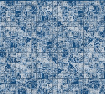 6800601 WAVES TILES BLUE