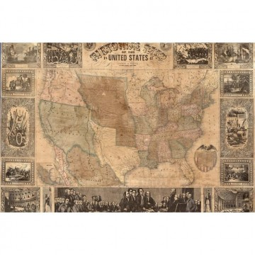 R11431 Pictorial Map of the U.S.