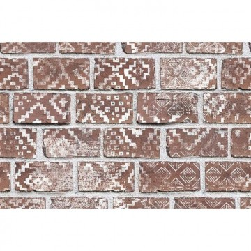 R15231 Decorated Bricks, Red