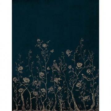CHINOISERIE 7000070 BLUE MURAL