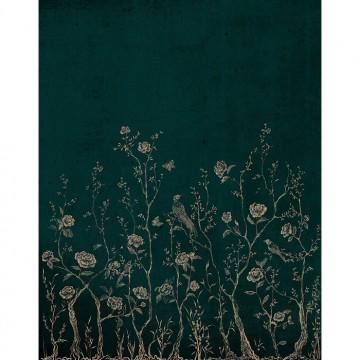 CHINOISERIE 7000071 GREEN MURAL