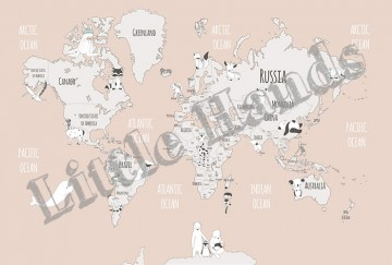 Animals World Map II