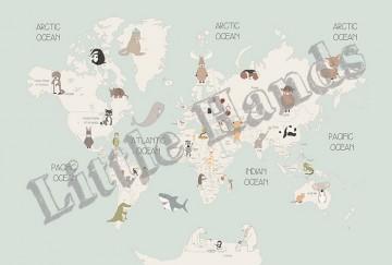 Animals World Map IV