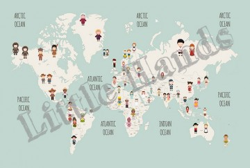 United Nation World Map