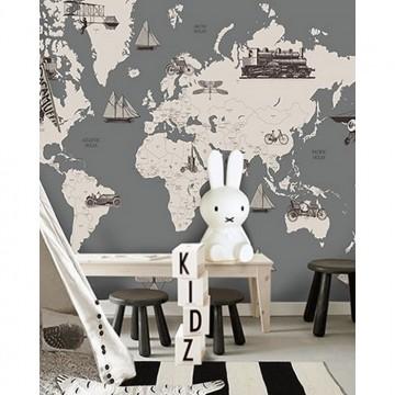 Vintage World Map II