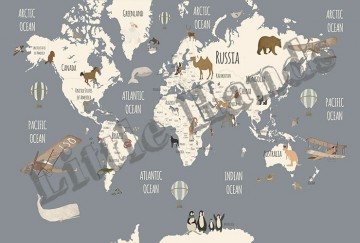 World Map Explorers I