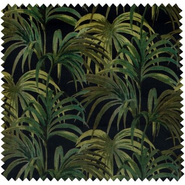 PALMERAL VELVET - MIDNIGHT-GREEN