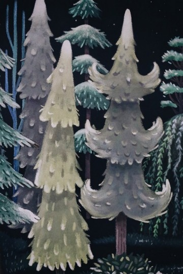 FROSTED FLORA MURAL
