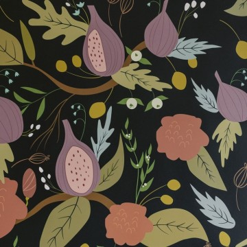 MULBERRY WALLPAPER