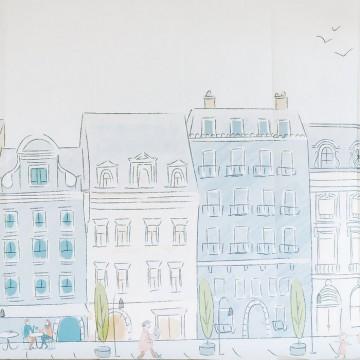 PARISIAN STREET MURAL