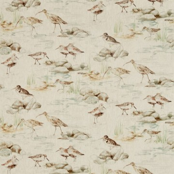 DEBB226427 ESTUARY BIRDS LINEN