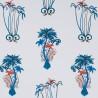 JUNGLE PALMS BLUE F1110-01