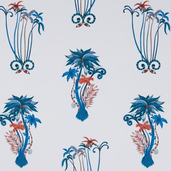 Jungle Palms Blue WP W0101-01