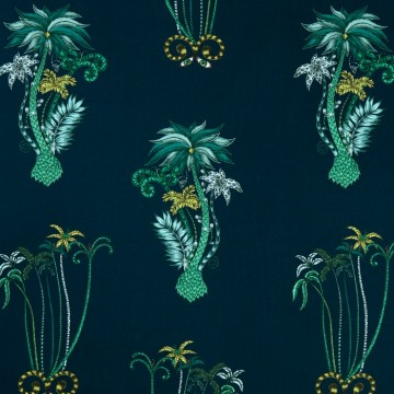 Jungle Palms Navy WP W0101-03