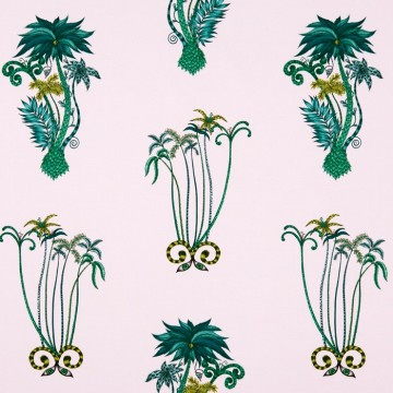 Jungle Palms Pink WP W0101-04