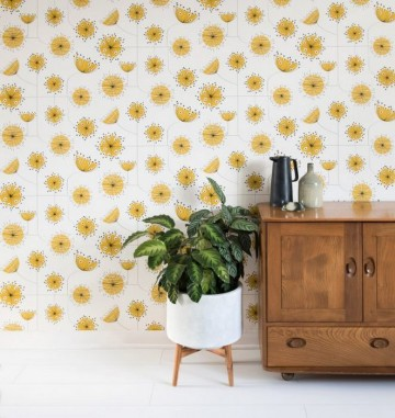MISP1235 DANDELION MOBILE Sunflower Yellow