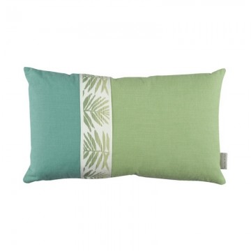 VNC3345 01 JUNGLE JUMBLE BRAID CUSHION