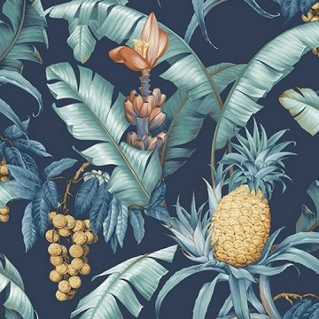 TP80002 PINEAPPLE FLORAL