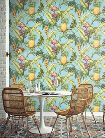 TP80005 PINEAPPLE FLORAL