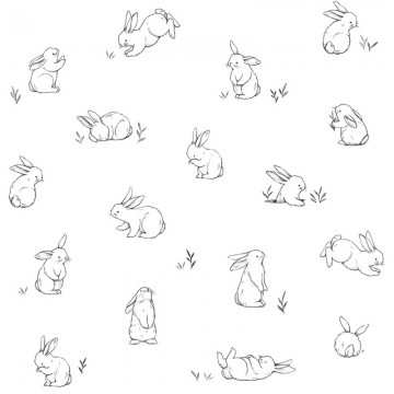 H0440 BUNNIES SKETCHES