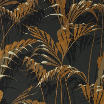 PALM HOUSE DGLW216641 Charcoal/Gold