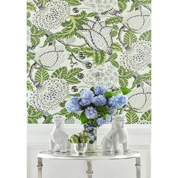 Mitford T2949 Green and White
